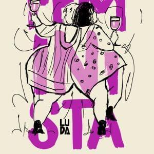 Bolsa Feminista Orgánica Diseño